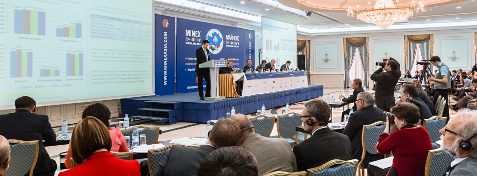 5th forum MINEX Central Asia in Astana, Kazakhstan